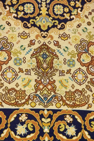 Traditional carpet of portuguese manufacture photo