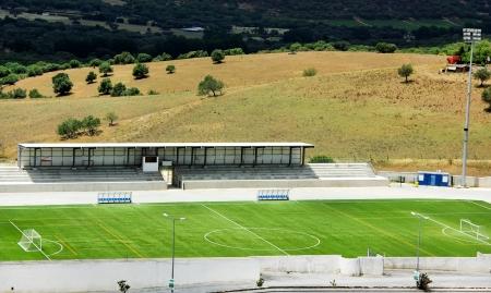 Football stadium at Portugal