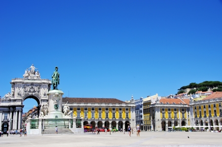 Terreiro do pa square at Lisbon