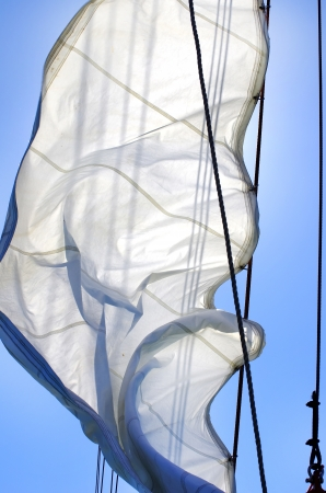 Sail on wind, and the blue sky photo