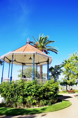 bandstand: Portuguese  bandstand in old city of Moura