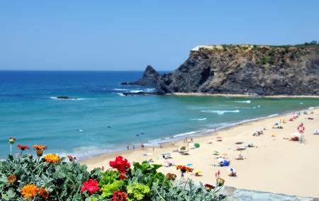 Beach of Odeceixe village, Portugal