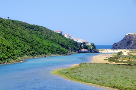 barlavento: West coast of Portugal, Odeceixe beach