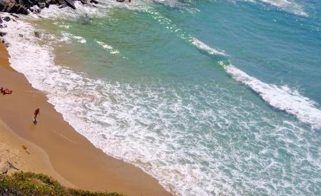 barlavento: beach in South-West Alentejo and Costa Vicentina, Portugal Stock Photo