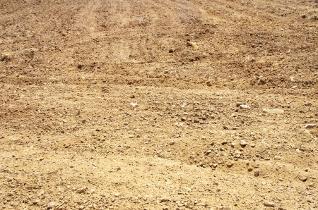 soil conservation: texture of brown soil