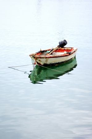 small boat: Old fishing boat