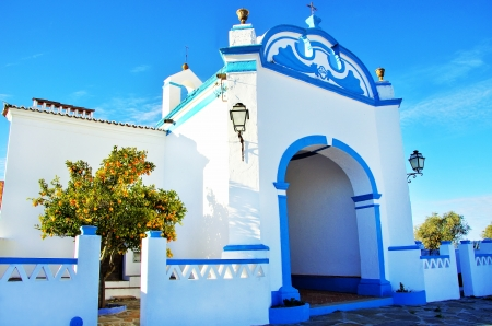 Old chapel in Redondo village,Portugal photo