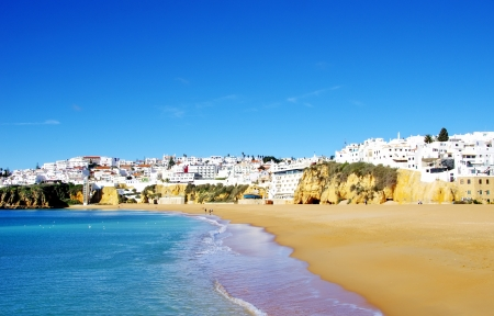 Albufeira,Algarve region, Portugal  Фото со стока