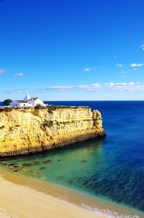 senhora: senhora da rocha beach, Algarve, Portugal Stock Photo
