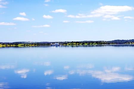 Alqueva lake,  Portugal  photo