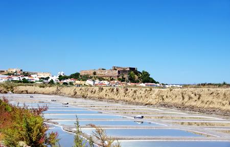 castro: Castro Marim salines, Portugal
