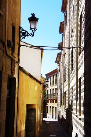 patrimony: Old street of  Ciudad Rodrigo, Spain