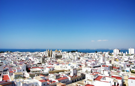 Landscape of Cadiz, Spain  Stock Photo