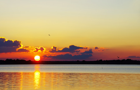 unwind: sunset on the alqueva lake