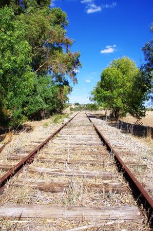 obsolete: Old Obsolete Train Tracks abandoned