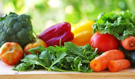 vegetables on table Foto de archivo