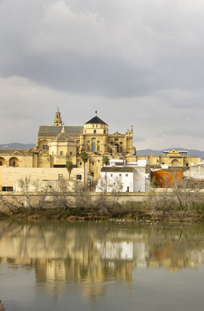 cordoba: Cityscape with the Great Mosque,Cordoba, Spain.