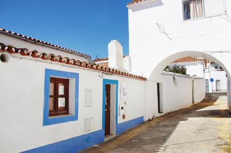 alentejo: old street in alentejo, alandroal village