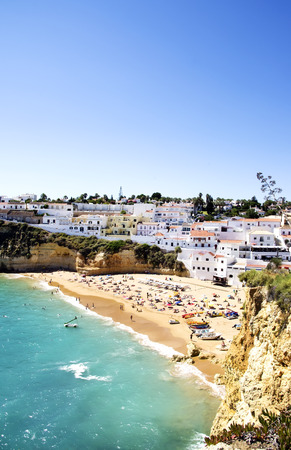 Village of Carvoeiro,Algarve, Portugal 版權商用圖片 - 43272293