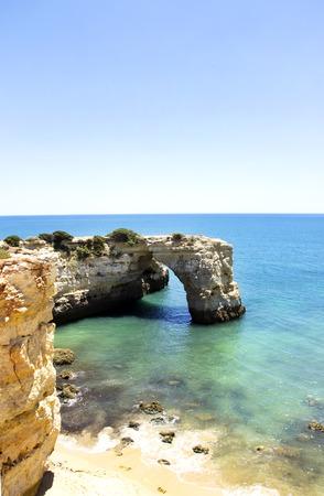 barlavento: Albandeira beach,Algarve,Portugal