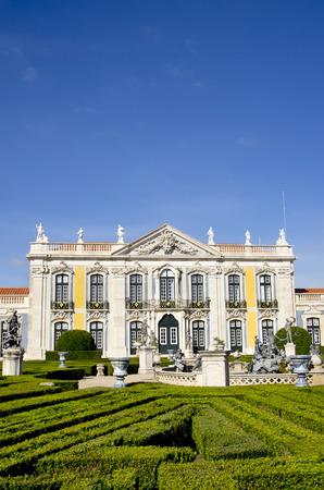 palacio: Queluz national palace. Sintra , District of Lisbon. Portugal. Editorial