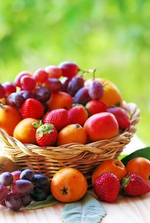 basketful: basketful of ripe fruits