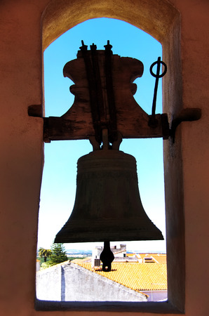 cultic: Church bell in Alentejo, Portugal