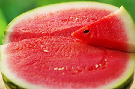 pulpy: close up  of water melon