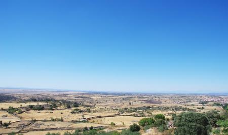 paisaje mediterraneo: paisaje mediterr�neo, regi�n de Extremadura, Espa�a