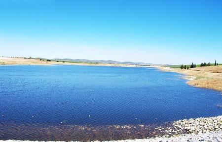 alentejo: small lake in alentejo, south of Portugal