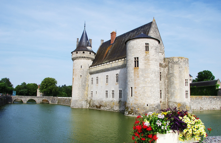 sully: chateau of Sully-sur-Loire, France