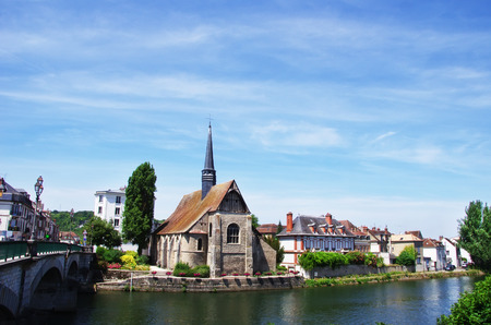 Church Saint- Maurice in Sens, Burgundy, France