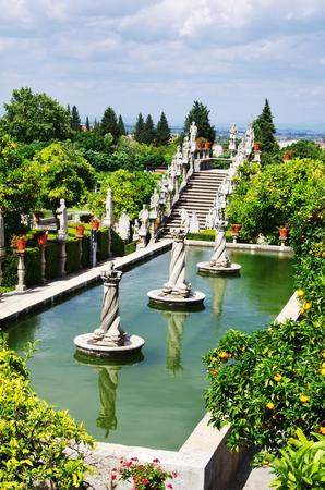 Castelo Branco garden, Beira Baixa region, Portugal Stock Photo