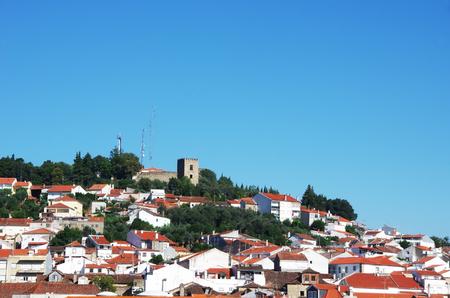 landscape of Castelo Branco, Portugal