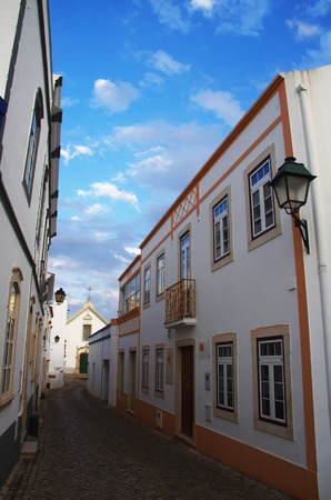 street in the typical village of Alte, Algarve - Portugal