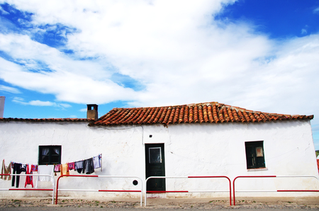 Typical house at south of Portugal, alentejo tregion