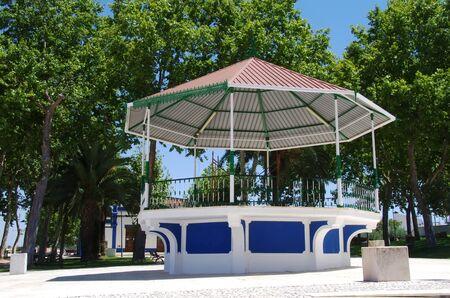 portuguese bandstand, Borba village, Portugal Standard-Bild - 131221416