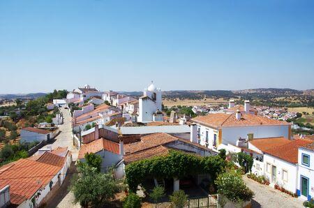 Landscape of Terena village, Portugal Standard-Bild - 131221443