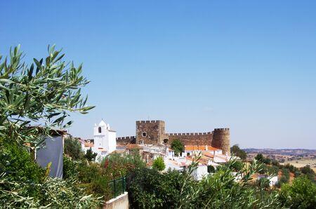 Landscape of Terena village, Portugal Standard-Bild - 131221466