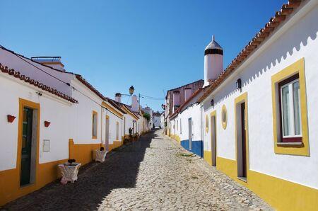 street in old village, Terena, Portugal Standard-Bild - 131221487