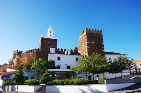 castle of Alandroal village, alentejo region, Portugal Standard-Bild - 138486725
