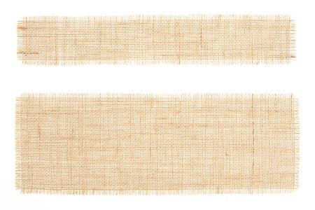 conjunto de etiquetas de arpilleras con decoración en blanco