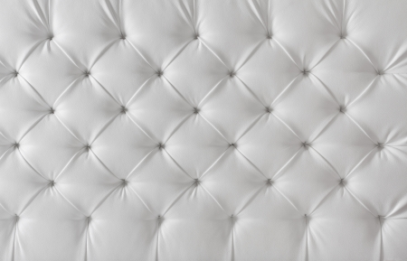 leather upholstery white sofa texture, pattern background photo