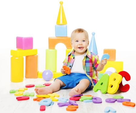 Baby Educatief speelgoed, Kid Speel ABC Kleurrijke Letters, Kinderen Onderwijs