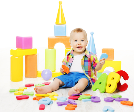 preschool kids: Baby Educational Toys, Kid Play ABC Colorful Letters, Children Education