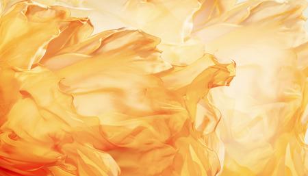 Abstracte stof vlam achtergrond, Artistic Golvende Doek Fractal Stockfoto