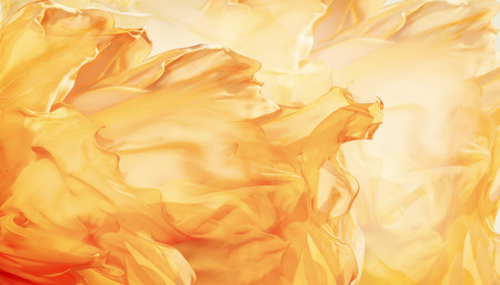 Abstract Fabric Flame Background, Artistic Waving Cloth Fractal Pattern