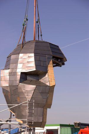 corporal: Corpus building, Leiden, the Netherlands under construction