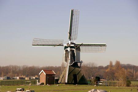 polder: windmill in the polder
