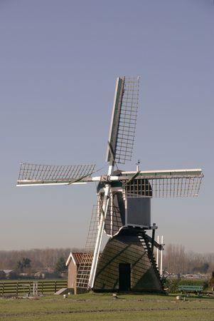 Reclaimed: Polder windmill